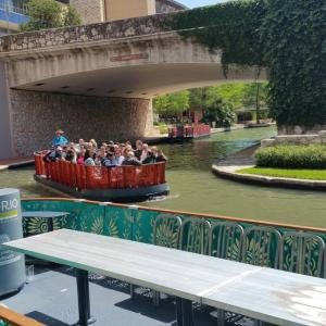 San Antonio River Walk Boat Rails1
