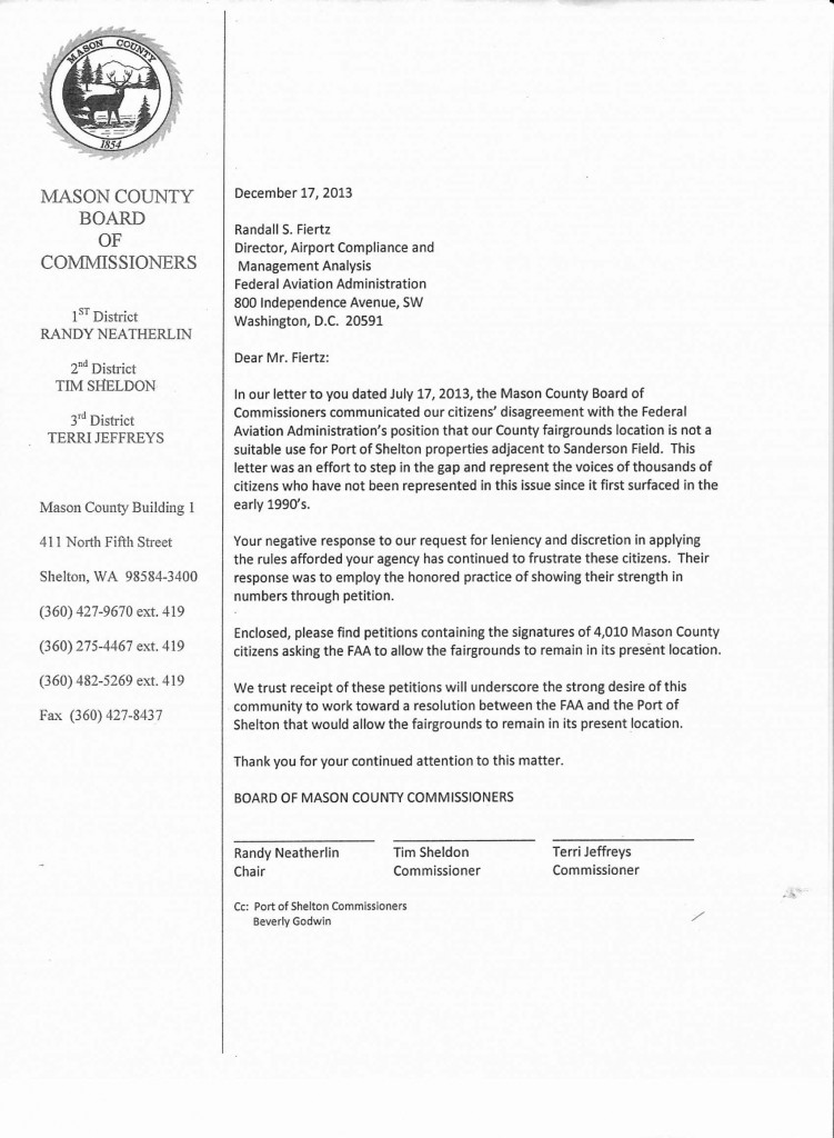 County Sends Fairgrounds Petition To FAA