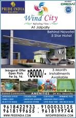Pride India-Wind City Paper Ad-11-9-16-Siasat
