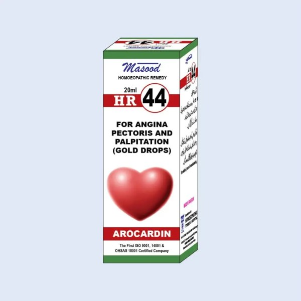 HR-44 (AROCARDIN) - Dr. Masood Homoeopathic Pharmaceuticals