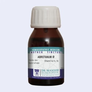 Mother tincture of ABROTANU by Dr.Masood homeopathic pharmaceuticals