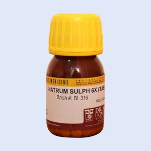 NATRUM SULPH - Dr. Masood Homoeopathic Pharmaceuticals