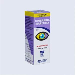 CINERARIA MARTITMA - Dr. Masood Homoeopathic Pharmaceuticals