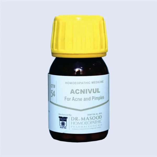 CT-54 ACNIVUL - Dr. Masood Homoeopathic Pharmaceuticals