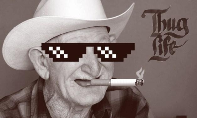 thug life grandpa copier des lignes punition sophrologie