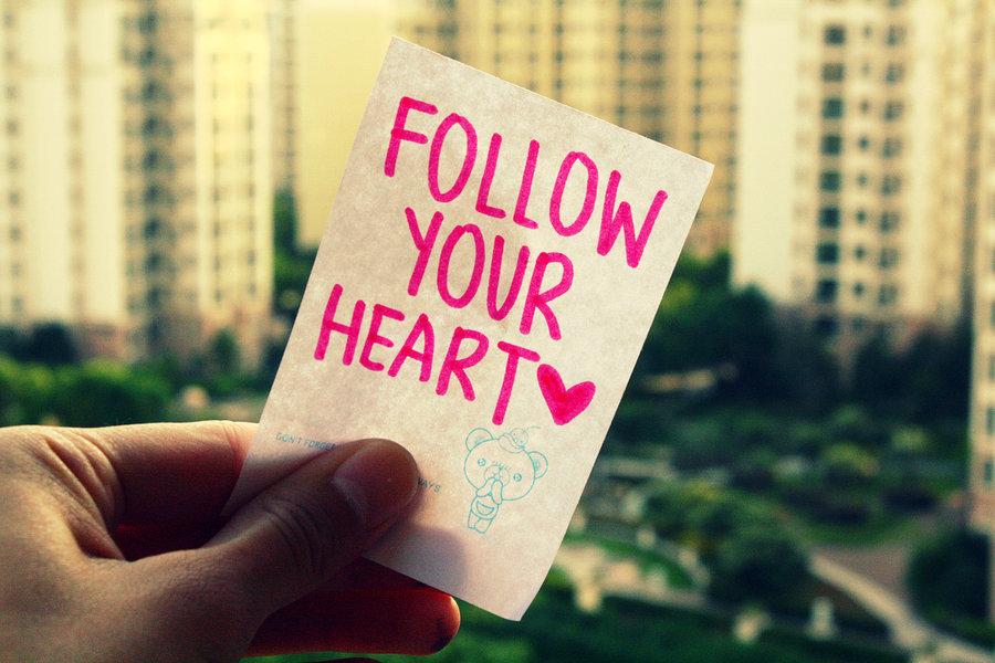 écouter son cœur suivre son intuition