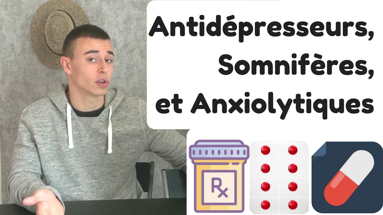 Antidépresseurs,Somnifères,et Anxiolytiques fonctionnement comment ça marche stan carrey sophrologue