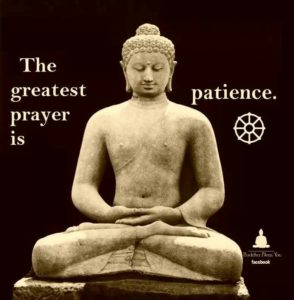 bouddha patience accomplir de grandes choses