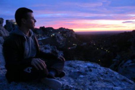 stan carrey coucher de soleil montagne sophrologue l'isle sur la sorgue le thor avignon