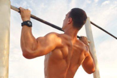 comment être en bonne santé physique pleine forme sport workout tractions musculation fitness