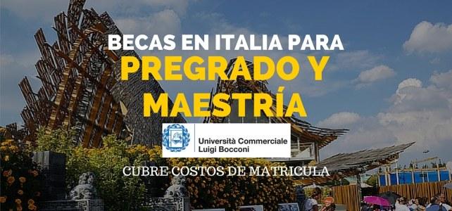 Becas de pregrado y maestría en Milán (Italia)