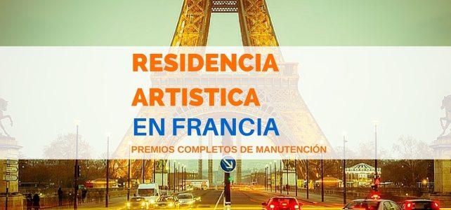Becas de residencias artísticas en Francia para jóvenes del mundo entero