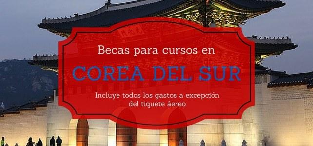 Becas para realizar cursos cortos en Corea del Sur