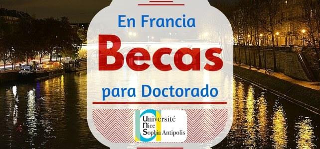 Becas para doctorado en Francia