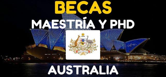 Becas Internacionales de Investigación para Postgrado en Australia (DPI)