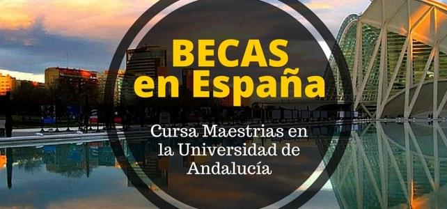 Becas de Maestría en la Universidad Internacional de Andalucía en España