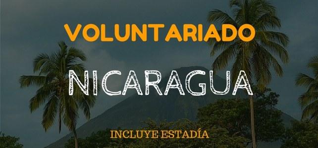 Voluntariado con niñas y niños de Nicaragua
