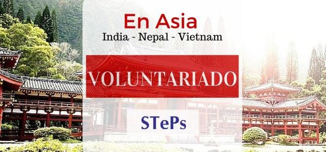 Voluntariado de corta duración en Asia en India – Nepal – Vietnam