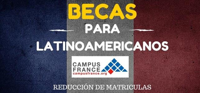 Becas Desafío para estudiantes latino-americanos en Francia