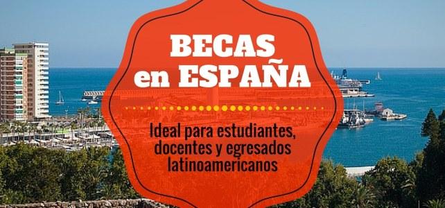 Becas de Maestría en la Universidad de Málaga en España para Latinoamericanos