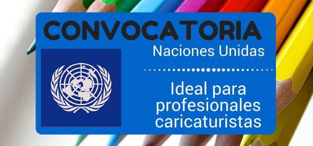 Convocatoria de las Naciones Unidas para caricaturistas – sin restricción de nacionalidad