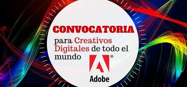 Convocatoria Adobe 2016 para creativos digitales del mundo entero