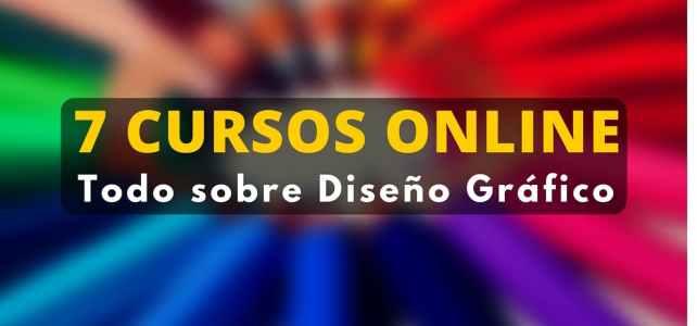 Siete cursos on-line gratuitos sobre diseño gráfico al alcance de todos