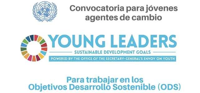 Naciones Unidas busca jóvenes agentes de cambio para trabajar en los Objetivos Desarrollo Sostenible