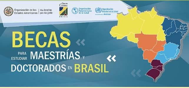 Becas para estudiar Maestrías o Doctorados en Brasil