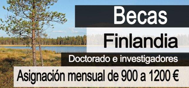 Becas del gobierno de Finlandia para estudiantes extranjeros.