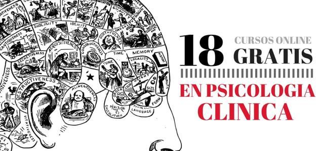 18 Cursos online gratis de psicología clínica gratuitos !