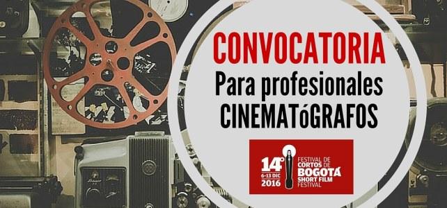 Convocatoria para Festival de Cortos de Bogotá (Colombia)