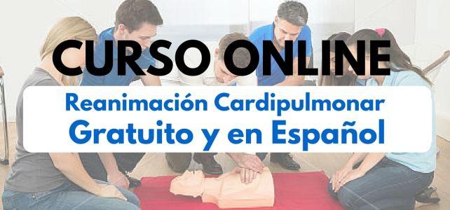 Salva vidas!  Curso online y gratuito sobre Reanimación Cardiopulmonar
