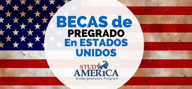 Becas de pregrado en Estados Unidos !