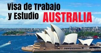VISA DE TRABAJO Y ESTUDIO AUSTRALIA