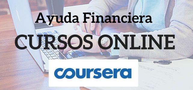 Ayuda financiera para obtener los certificados de los cursos online Coursera