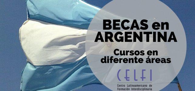 Becas para cursos en diferentes áreas en Argentina