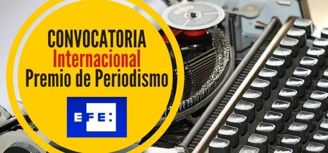 Convocatoria para la XXXIV edición de los premios de periodismo Rey de España