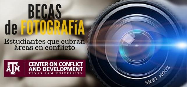 Becas para estudiantes de fotografía que cubran áreas conflictivas