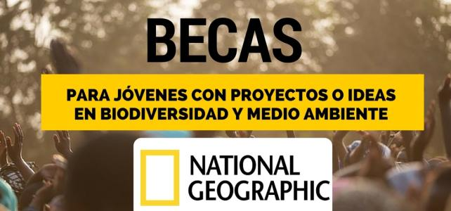 Becas para jóvenes exploradores con National Geographic en Estados Unidos