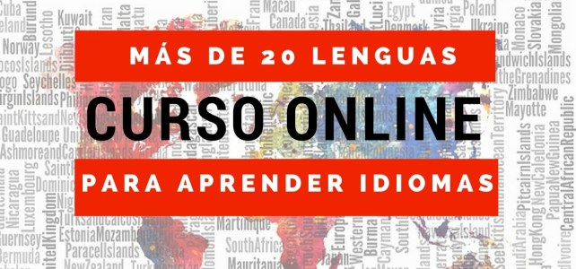 Curso online gratuitos para aprender idiomas. Más de 20 lenguas