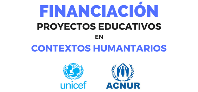 Financiamiento de proyectos educativos humanitarios