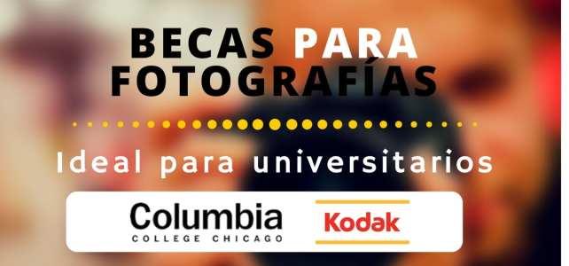 Becas de fotografía profesional Kodak