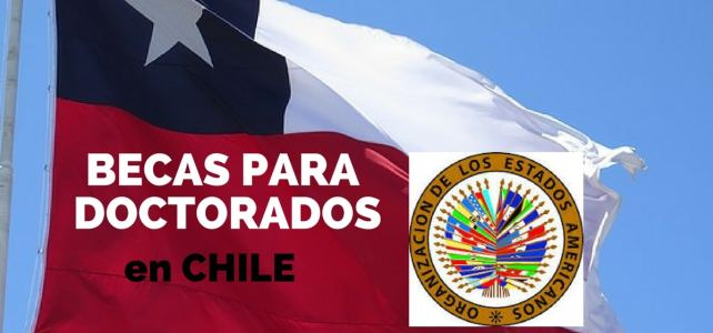 Becas de la OEA para cursar doctorados en Chile