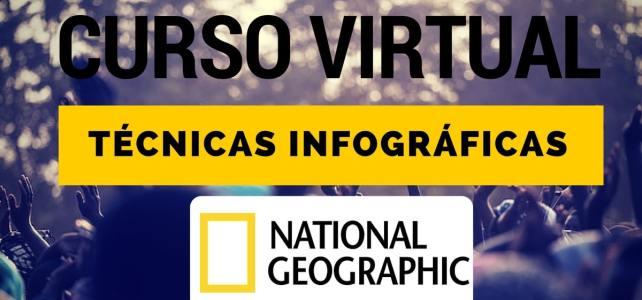 Curso virtual de técnicas infográficas de la National Geographic
