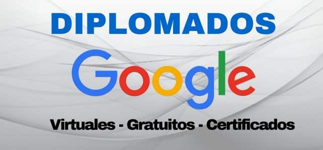 Cursa diplomados de manera gratuita con Google – Certificados!