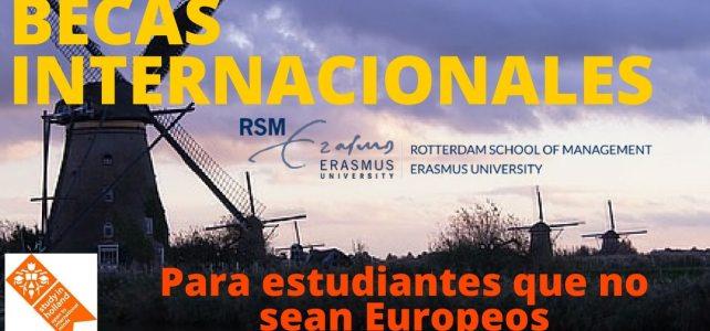 Becas Internacionales 2017 en la Universidad Erasmus en Holanda