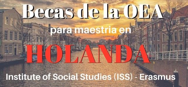 Becas de la OEA para maestría en Holanda
