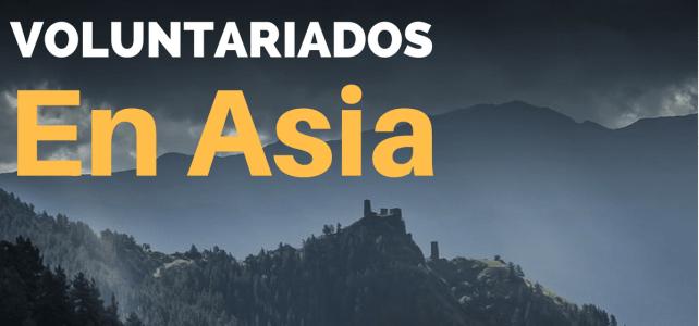 Voluntariados en toda Asia para amantes de la aventura