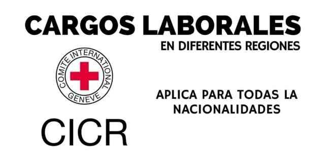 Cargo en diferentes regiones con el Comité internacional de la Cruz Roja – CICR
